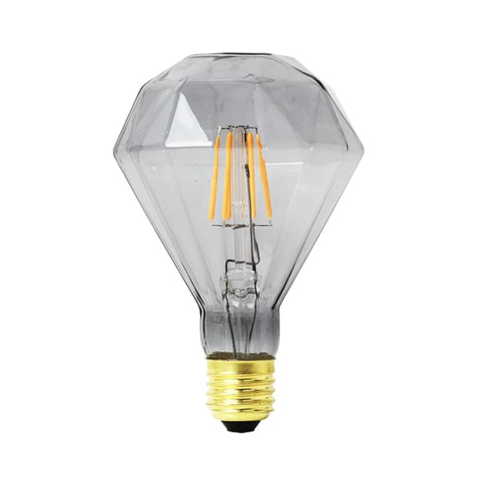 Grey Diamond LED Bulb
