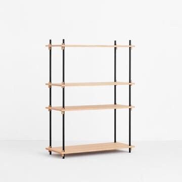 MOEBE SHELVING SYSTEM - MEDIUM SINGLE - OAK