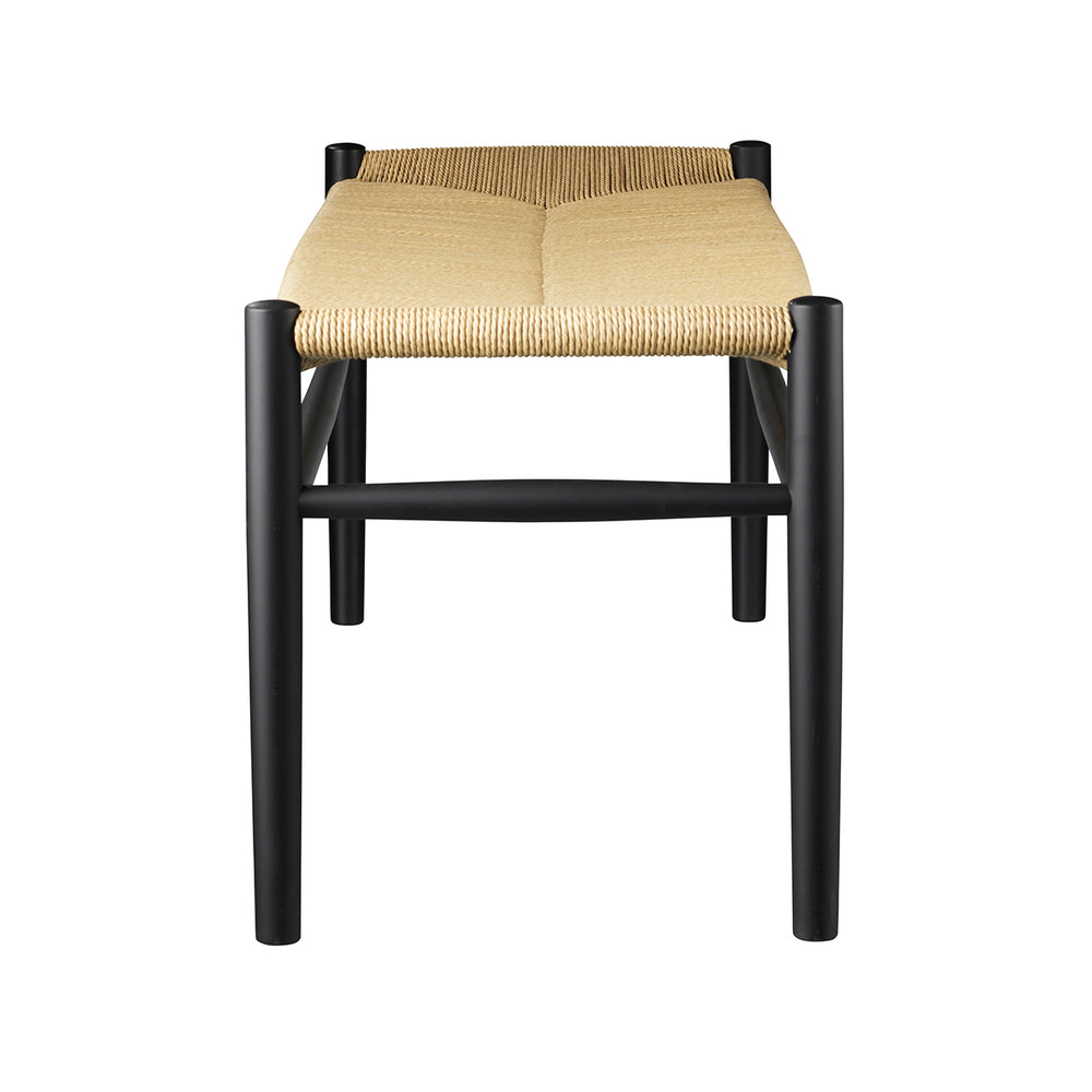 J83B Bench - Black / Nature sold in House of Gefion