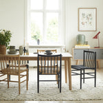 J80 Dining Chair - Black sold in House of Gefion