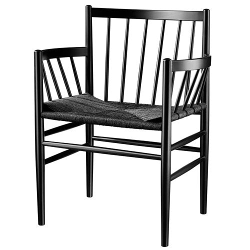 J81 Dining Chair - Black