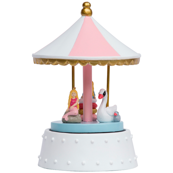 Princess Fairytale Carousel + house of gefion