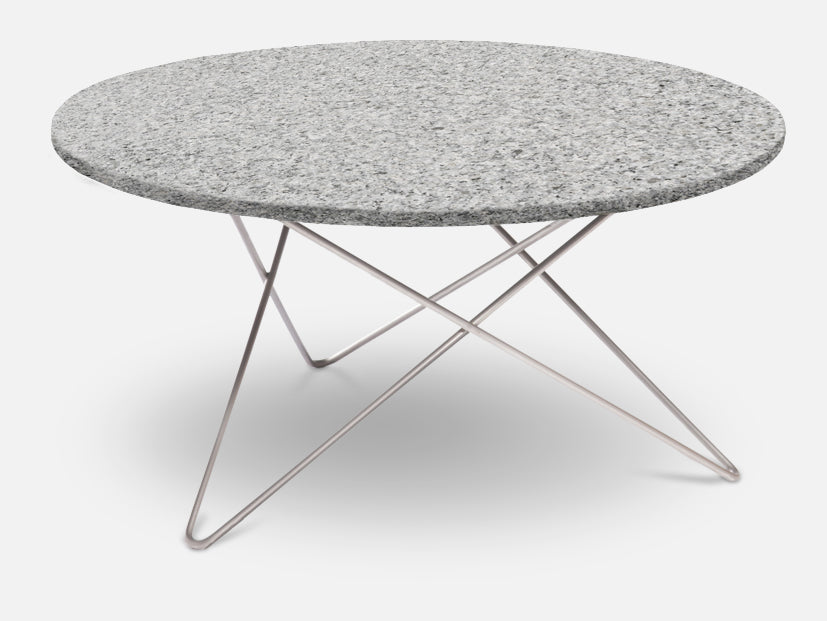 Outdoor O Table - Granite