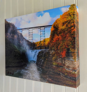Autumn Gallery Wrapped Canvas Print by John Kucko