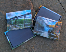 Load image into Gallery viewer, Magnets of the 1875 Iron Portageville Bridge, Portageville, NY with John Kucko Digital Photography