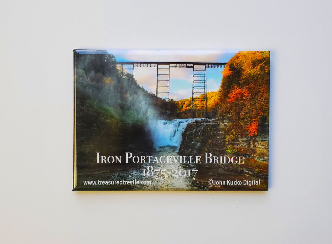 Magnets of the 1875 Iron Portageville Bridge, Portageville, NY with John Kucko Digital Photography