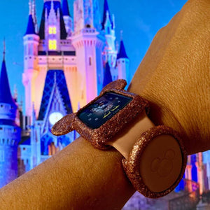Glitter Mickey Apple Watch Soft Cover
