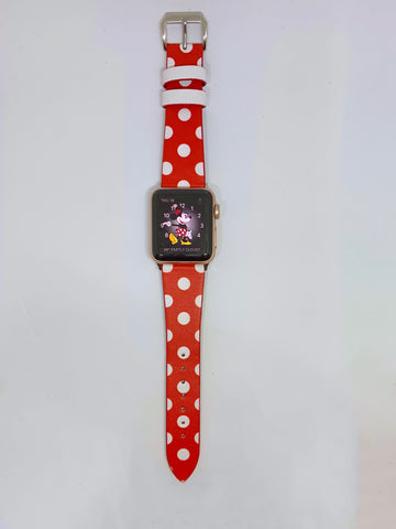 Image of Minnie Polka Dots Apple Watch Band