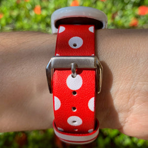 Minnie Polka Dots Apple Watch Band