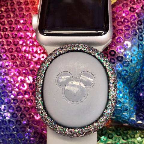 MB2WATCHSLIDER Rainbow Glitter