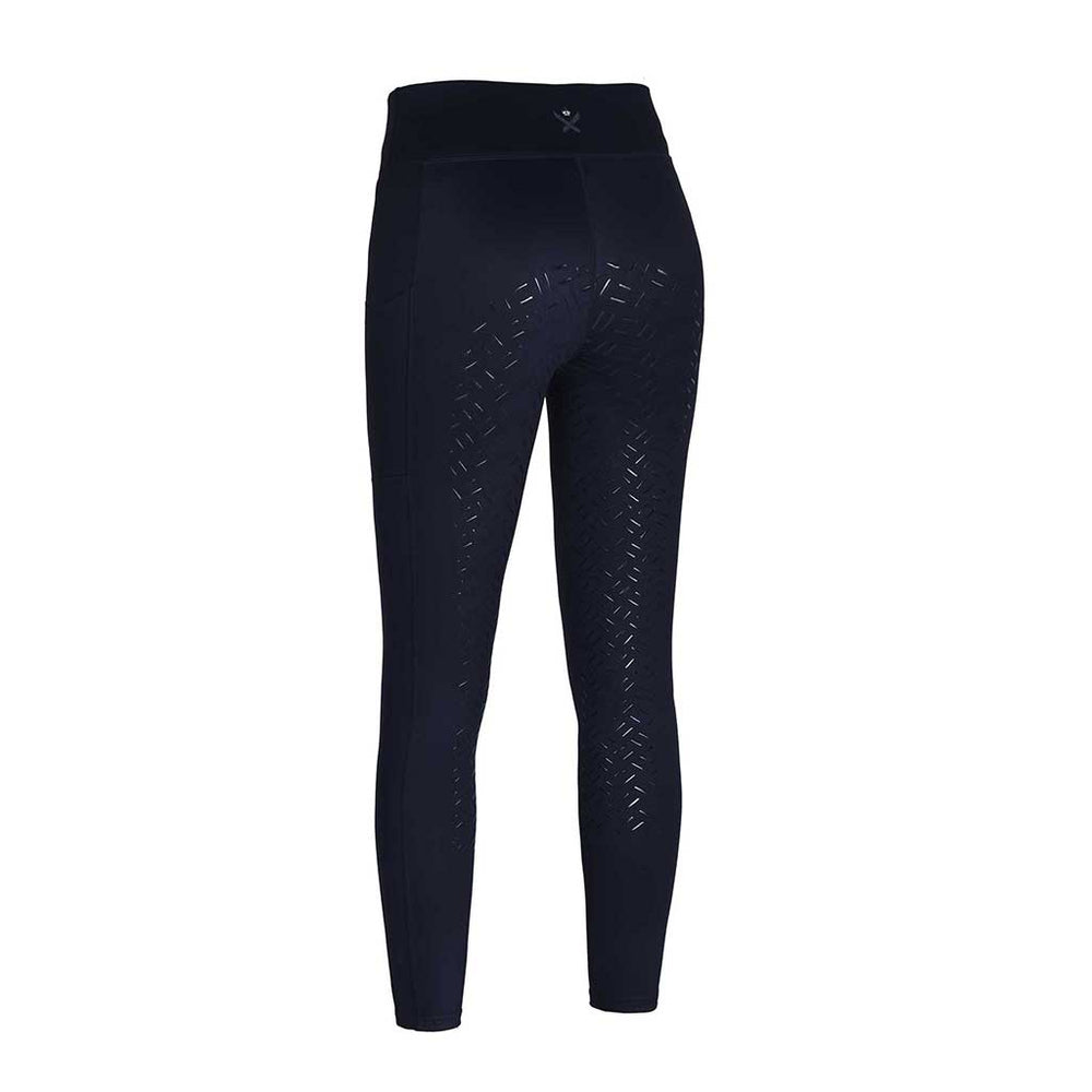Kingsland AW20 Karina Winter Grip Tights - Navy