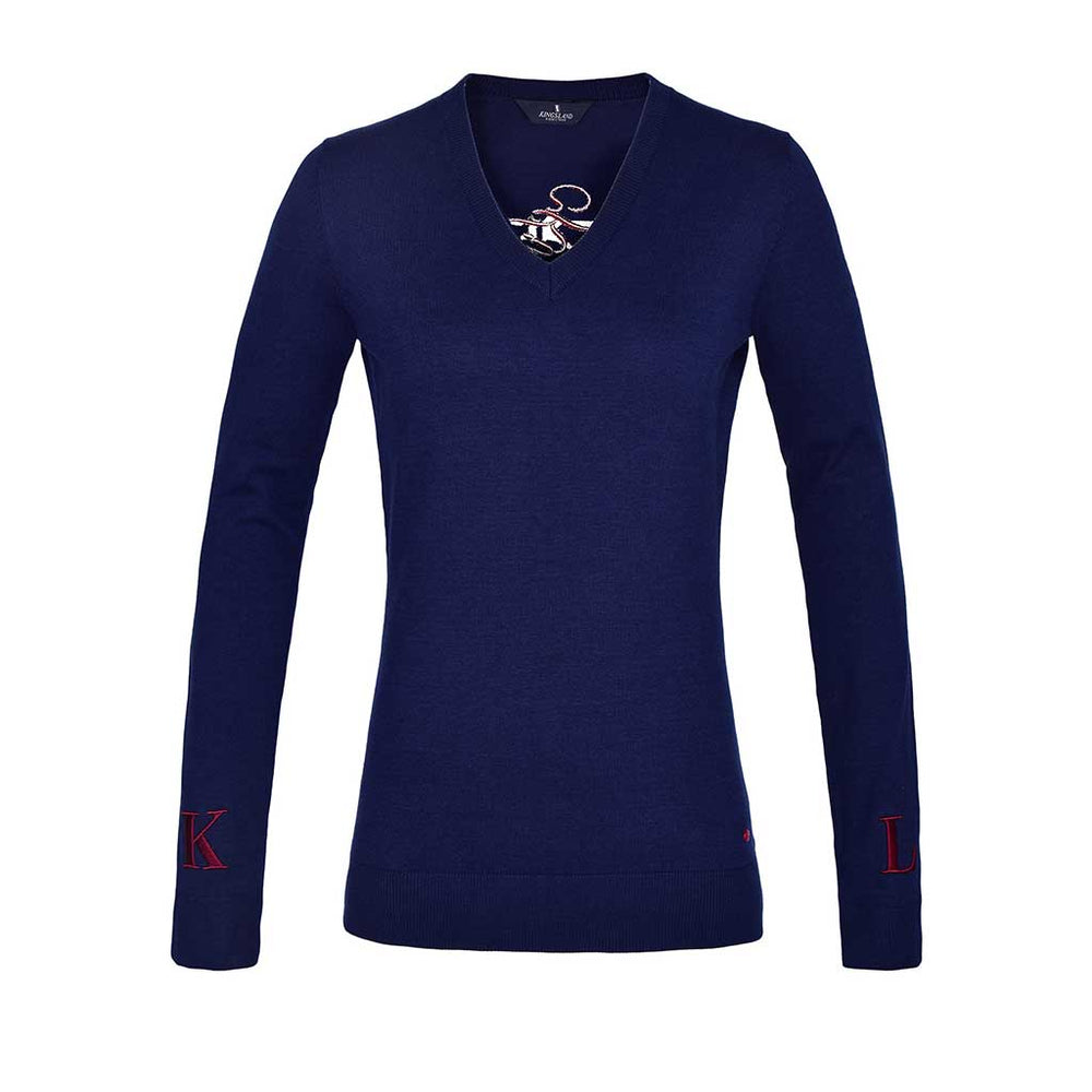 Kingsland SS21 Jaye Knitted Sweatshirt - Navy
