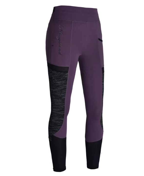 Kingsland Karina SS20 Tights - Violet/Black