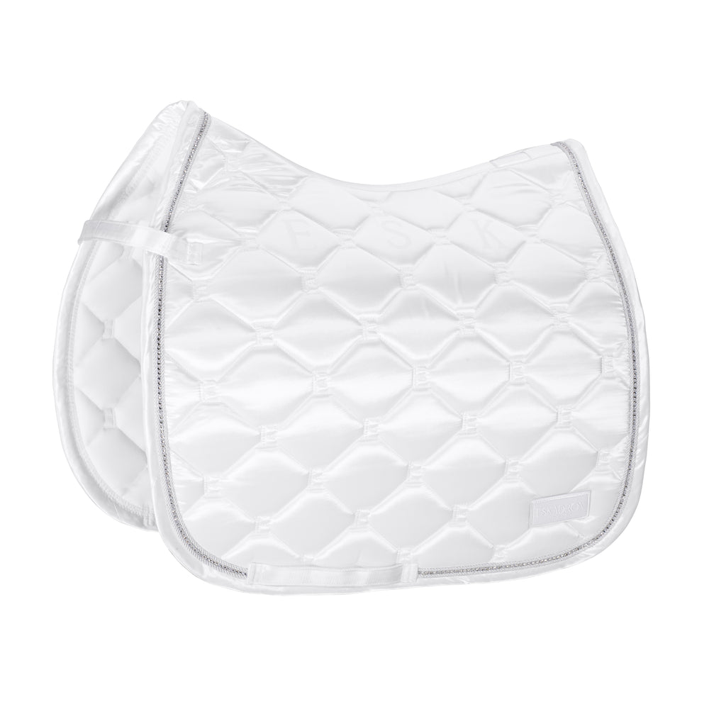 Eskadron SS21 Satin Saddle-pad - White