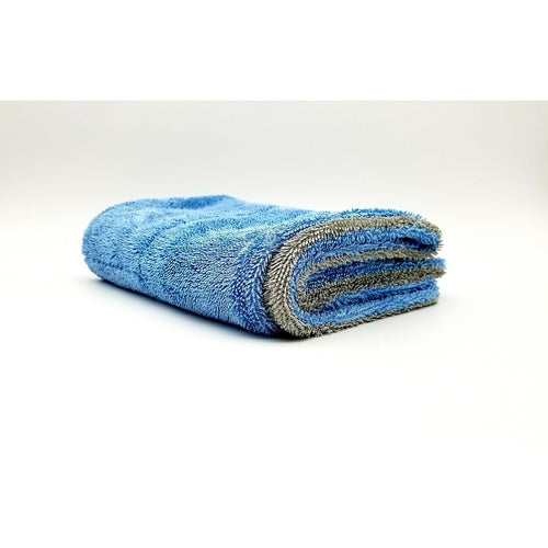 Autofiber Blue/Gray Dreadnought Drying Towel 1100gsm