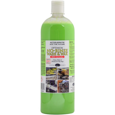 Optimum No Rinse Wash & Wax