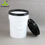 Grit Guard - White Bucket & White Lid with Grit Guard