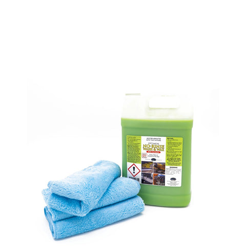 No-Rinse Wash & Wax with Towels