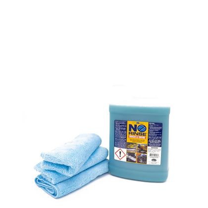 No-Rinse Wash & Shine with Towels