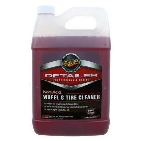 Meguiar's D143 Non Acidic Detailer Wheel & Tire Cleaner