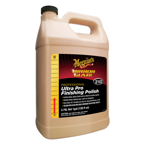 Car Detailing products | Car Detailing products on sale | Meguiar's M210 Mirror Glaze Ultra Pro Finishing Polish | M210 Ultra Finishing Polish
