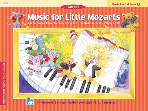 Music for Little Mozarts: Recital