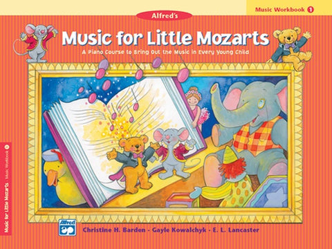 Music for Little Mozarts: Workbook