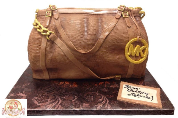 Michael Kors Designer Purse Cakes by CakEffect in Alabama