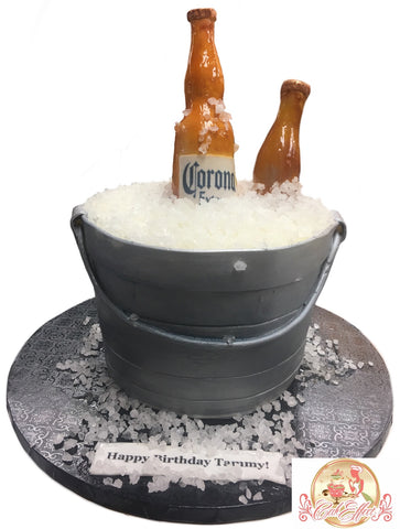 Corona Beer on Ice Birthday Cakes Alabama