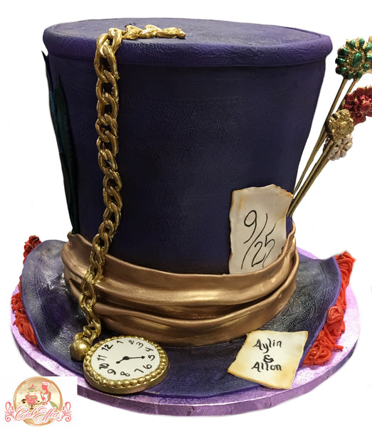Alice in Wonderland Tower Cakes - CakEffect Bakery