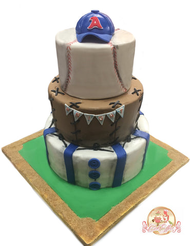 MLB Baseball Sports Team Custom Cakes by CakEffect