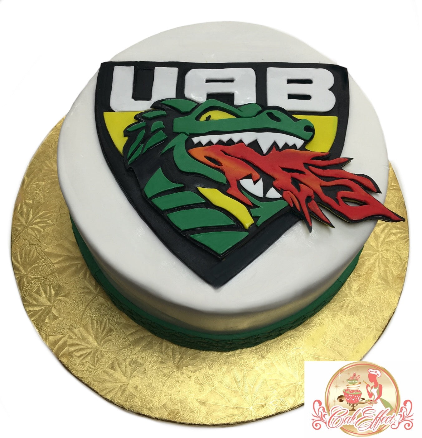 Team Cake UAB University of Alabama - CakEffect Bakery
