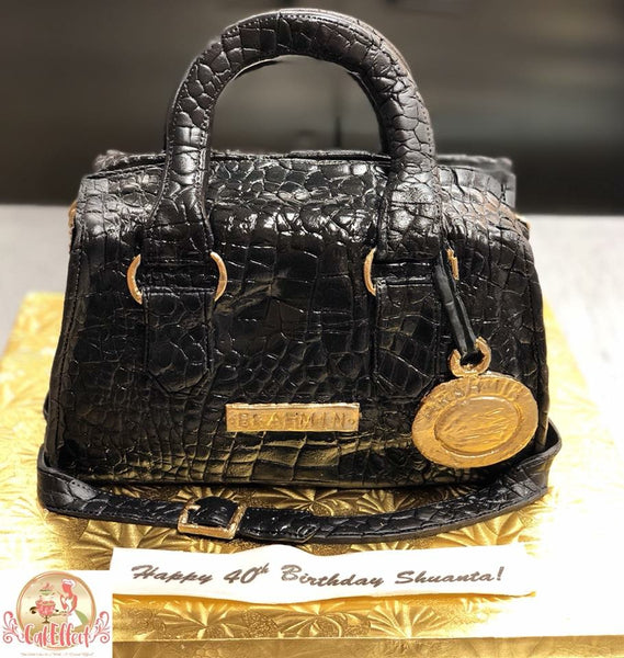 Designer Label Leather Purse Cakes by Komeh of CakEffect in Alabama