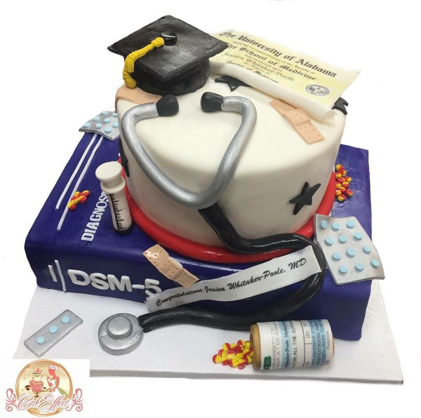 Doctor Medical School Graduation Cakes Alabama