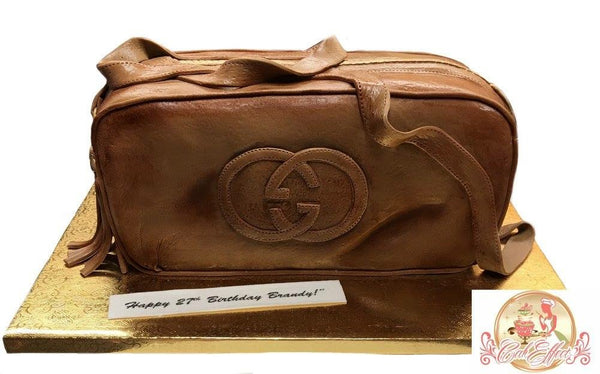 Designer Coach, Gucci, and Chanel Purse Cakes by Komeh of CakEffect Bakery