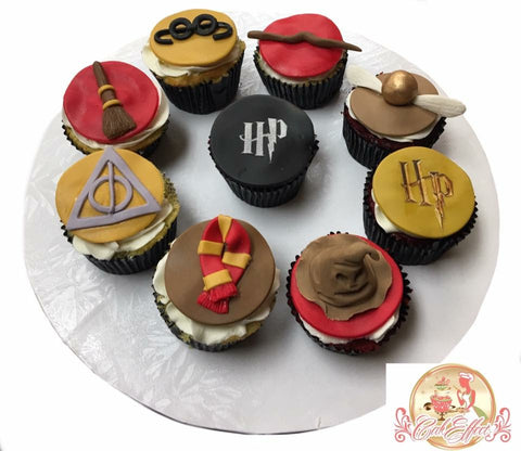 CakDelights Cupcakes Harry Potter Themed - CakEffect Bakery