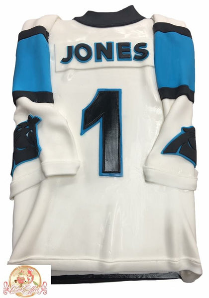 Carolina Panthers NFL Team Jersey Custom Cakes
