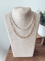 Load image into Gallery viewer, Chain Layered Necklace