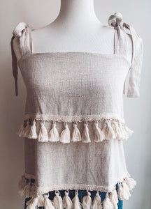 Tassel Tier Tank Top