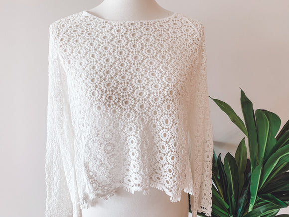 Daisy Lace Sweater