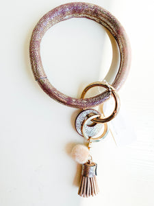 Metallic Key Ring