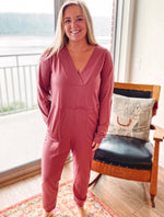 Load image into Gallery viewer, Comfiest Days Jumpsuit