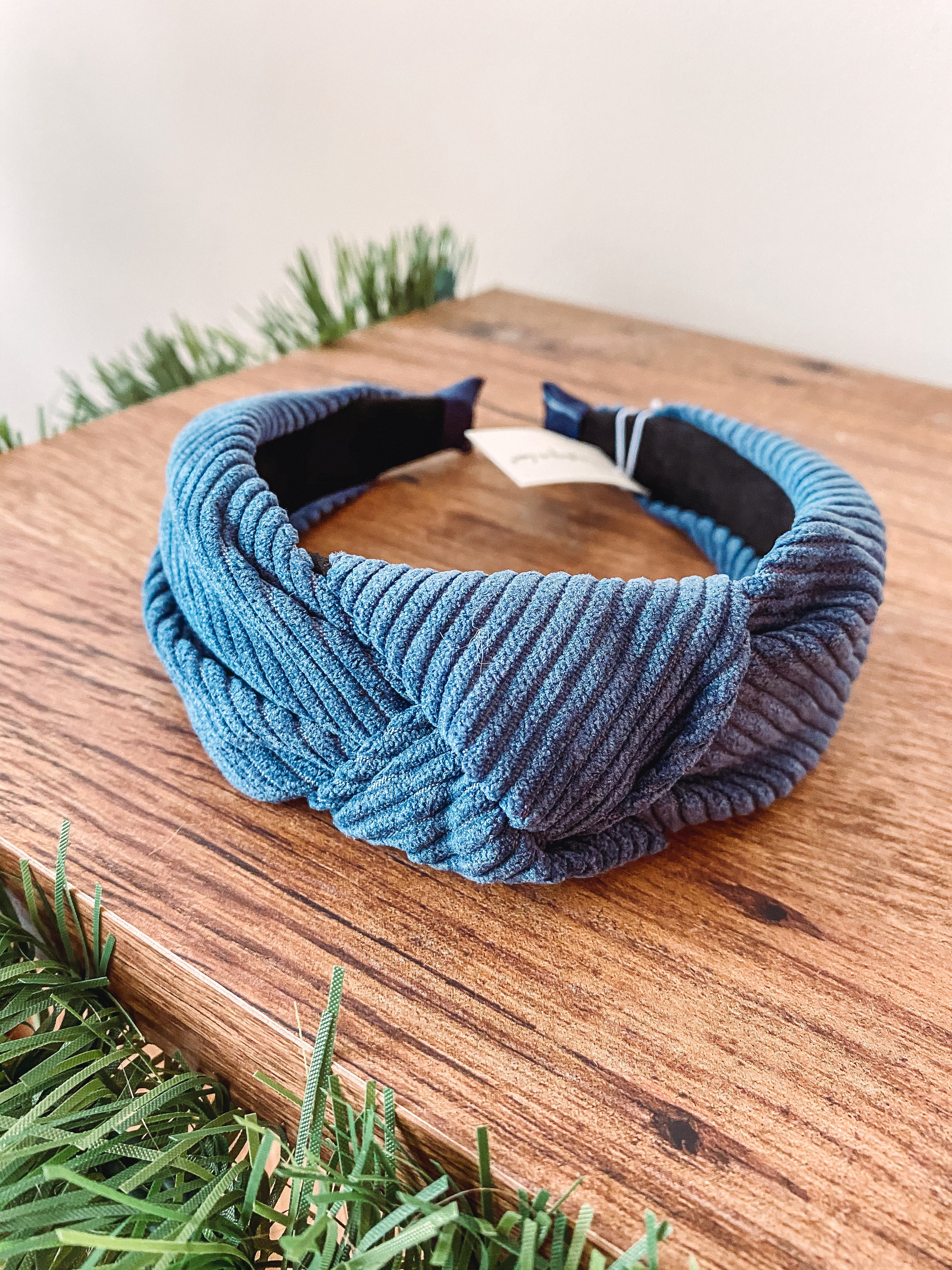 Corduroy Knotted Headband