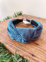 Load image into Gallery viewer, Corduroy Knotted Headband