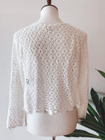Load image into Gallery viewer, Daisy Lace Sweater