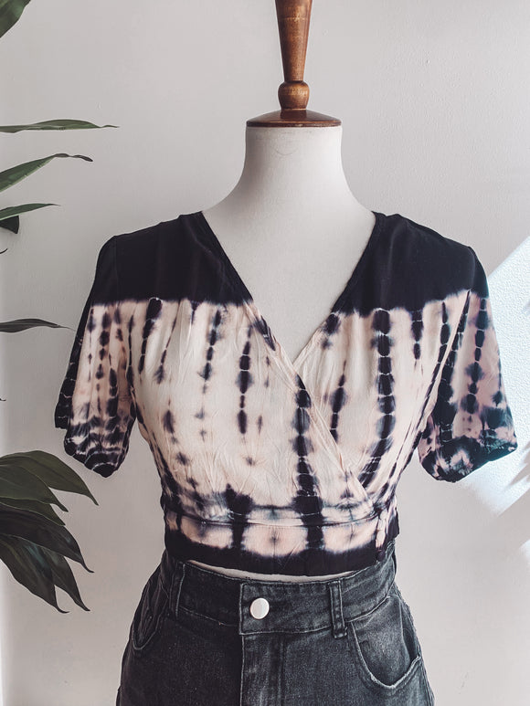Midnight Tie Dye Blouse