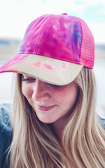 Load image into Gallery viewer, Tie Dye Hat in Pink