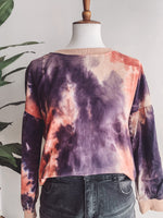 Load image into Gallery viewer, Free To Be Tie Dye Crewneck