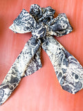 Snakeskin Hairscarf Scrunchie