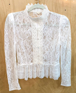 Ava Lace Blouse